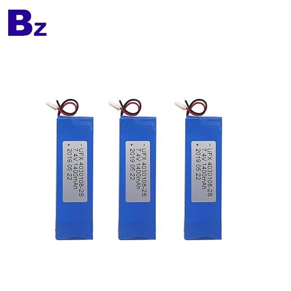 4030108-2S 1400mAh 7.4V Lipo Battery