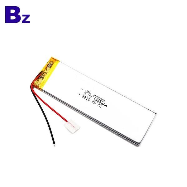 403099 1400mAh 3.7V Li-Polymer Battery