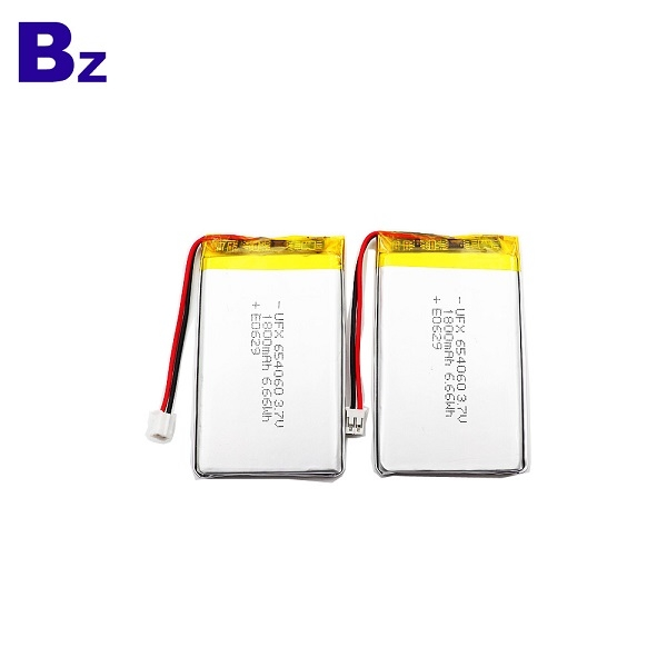 1200mAh Li Polymer Battery With Wire