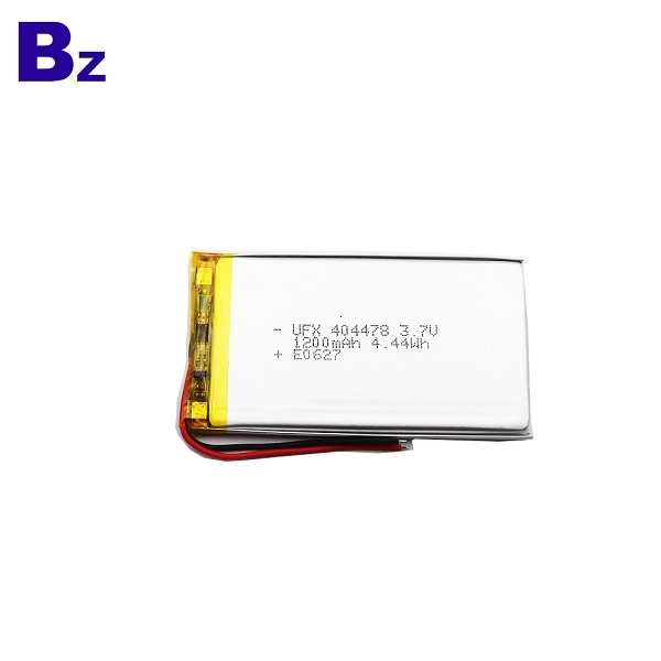 404478 1200mAh 3.7V Li Polymer Battery