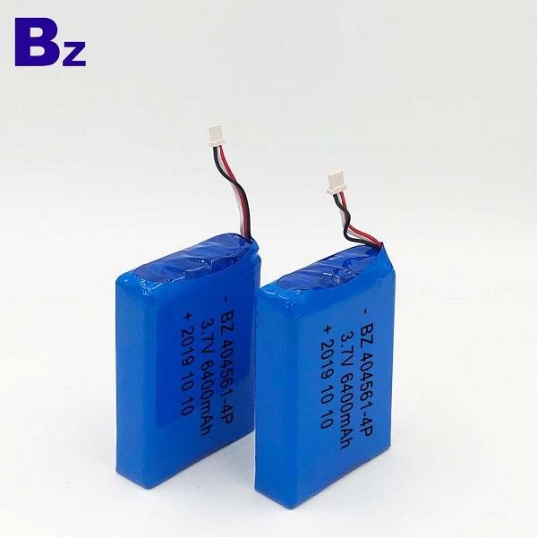 404561-4P 3.7V 6400mAh Li-Polymer Battery