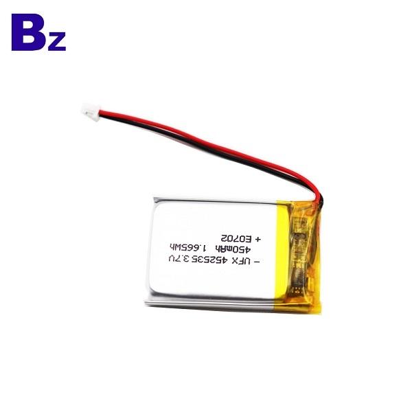 452535 450mAh 3.7V Li Polymer Battery