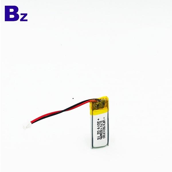 501230 150mAh 3.7V Li-Polymer Battery