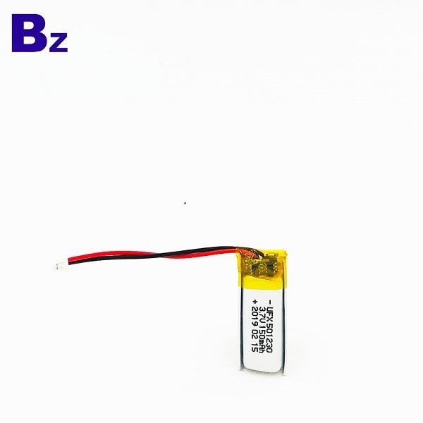 150mAh Li-ion Battery For Fluorescent Lights