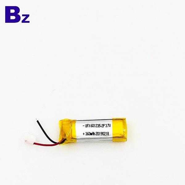 360mAh Li-ion Battery For E-cigarette