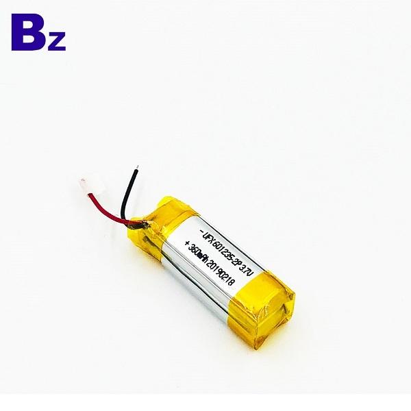 601235-2P 360mAh 3.7V Li-Polymer Battery