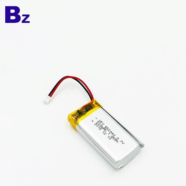 652040 500mAh 3.7V Li-Polymer Battery