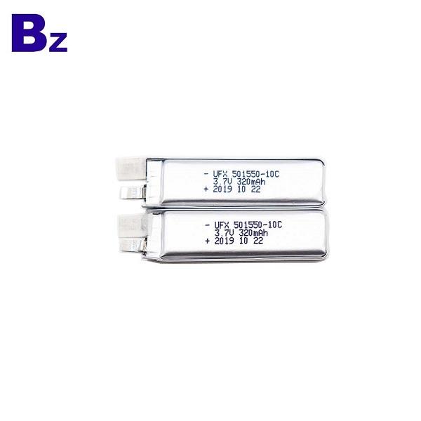 Professional Customization 320mAh Lipo Battery