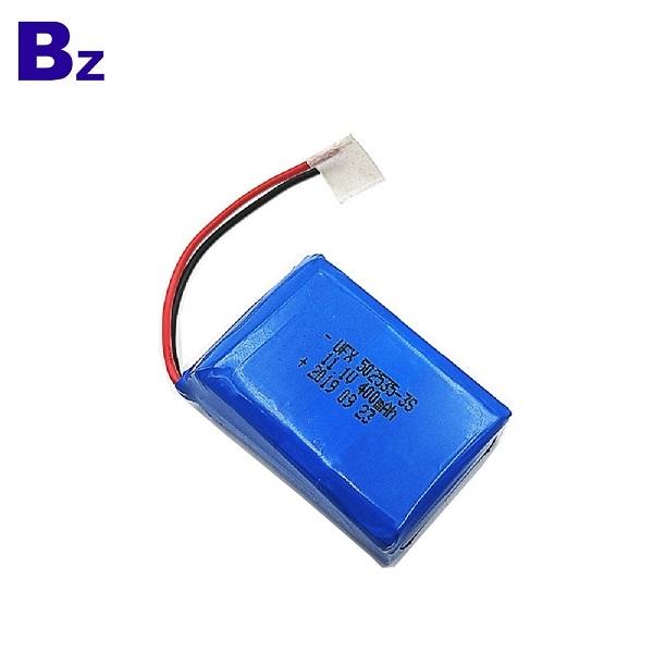 400mAh Li-Polymer Battery For Safe