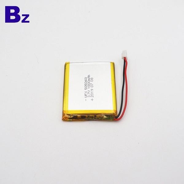 505060 1800mAh 3.7V Li-Polymer Battery
