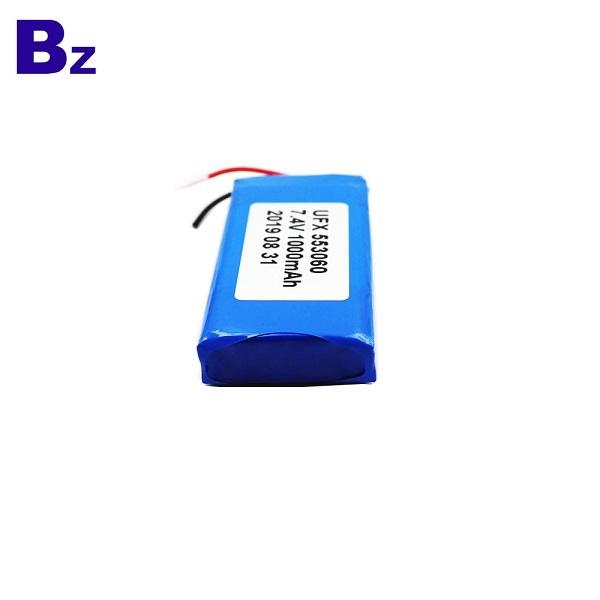 Factory Direct Supply 553060-2S 1000mAh Li-Polymer