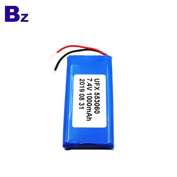 553060-2S 1000mAh 7.4V Lithium Polymer Battery