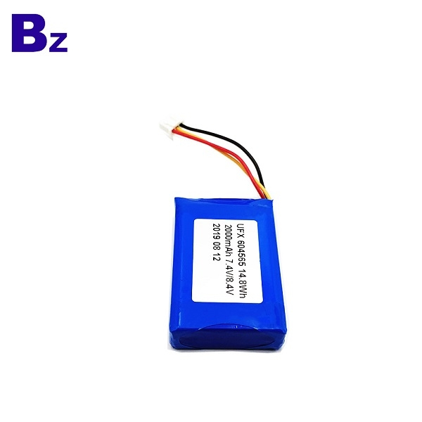 2000mAh Rechargeable battery for 3C Digital
