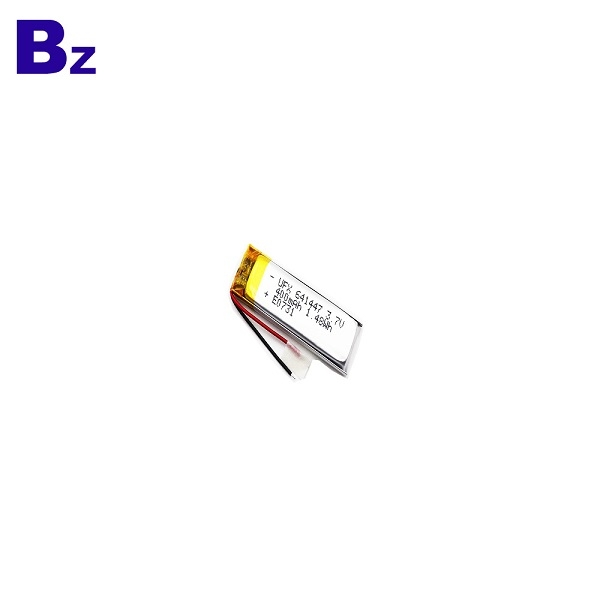 400mAh 3.7V Li-ion Polymer Battery