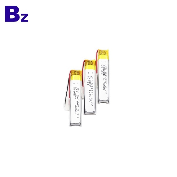 641447 400mAh 3.7V Li-ion Polymer Battery