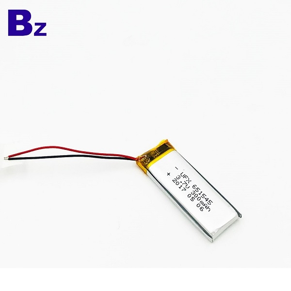 651545 300mAh 3.7V Li-Polymer Battery