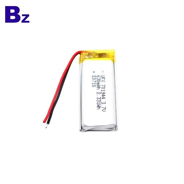 630mAh Li-Polymer Battery