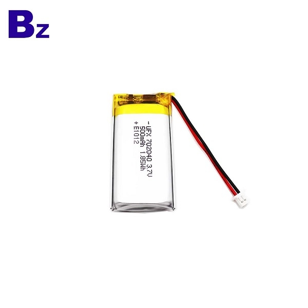 500mAh Battery For Smart Mask Li-Polymer Battery
