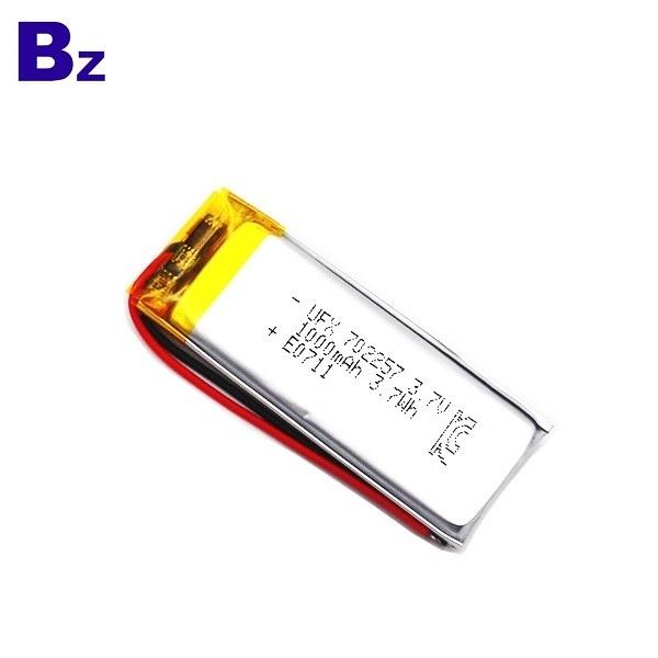702257 1000mAh 3.7V Li Polymer Battery