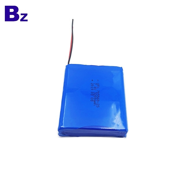 3200mAh Li-Polymer Battery With Wire