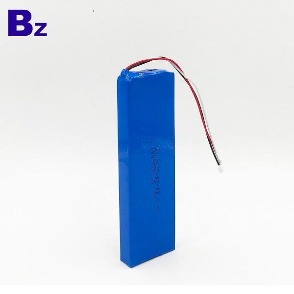 Li-Polymer Battery With Wire and Plug