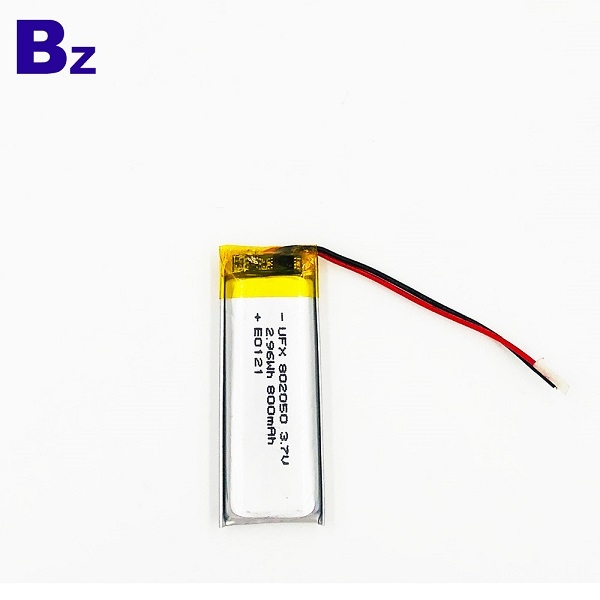 800mAh With UL1642 and KC Certification