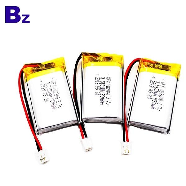 802840 3.7V 950mAh Lithium Polymer Battery