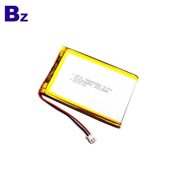 6000mAh High Capacity Li-Po Battery
