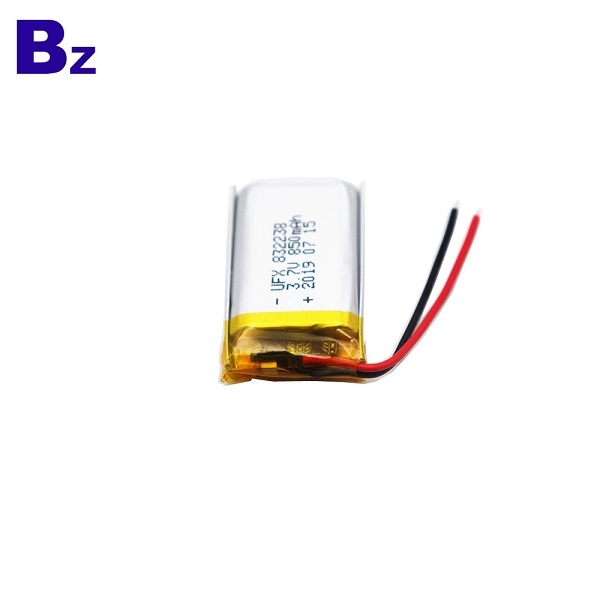 832238 850mAh 3.7V Li-Polymer Battery