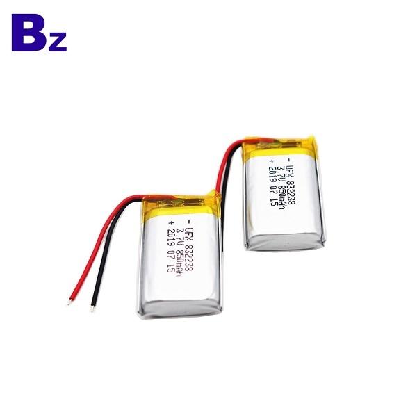 850mAh Li-Polymer Battery