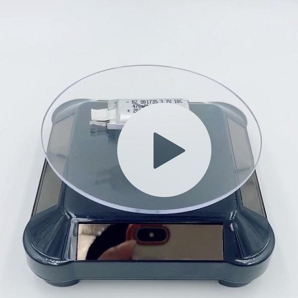 KC Battery for E-Cigarette BZ 801735 470mAh 10C