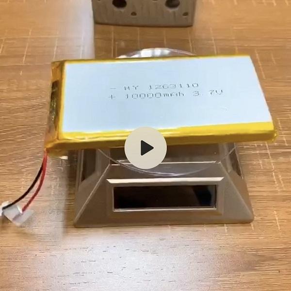 1263110 10000mAh 3.7V Lipo Battery